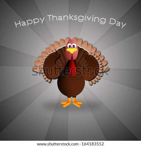 Happy Thanksgiving Day - stock photo