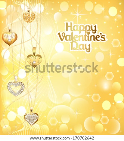 Happy Valentine's Day - stock photo