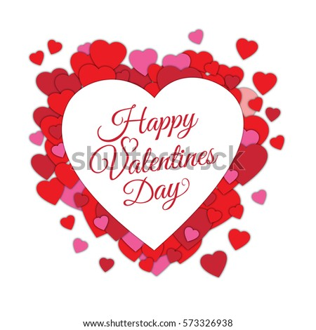 Happy Valentines Day Abstract Romantic Background Stock ...