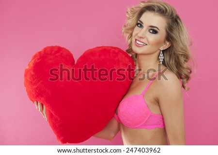Happy Valentine's day for everyone - stock photo