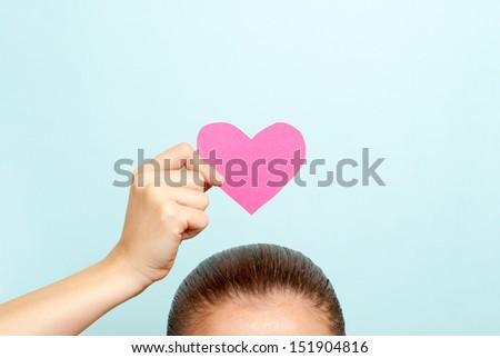 Happy Valentines day concept - stock photo