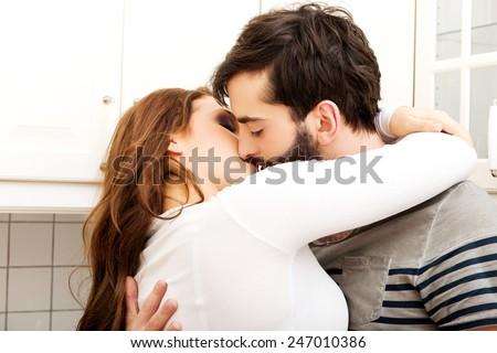 Kiss foreplay