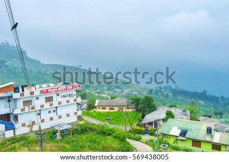 Haputale Sri Lanka November Stock Photo - Where is sri lanka located
