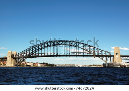 Harbor Bridge - stock photo