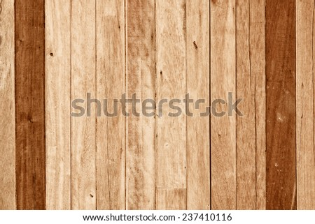 hard wood plank wall background - stock photo