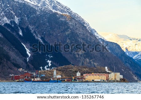 Hardangerfjord, Norway - stock photo