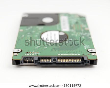 Harddisk drive - stock photo