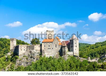 Hardegg Castle, Lower Austria, Austria - stock photo