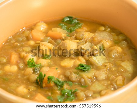 Harira - traditional Moroccan soup