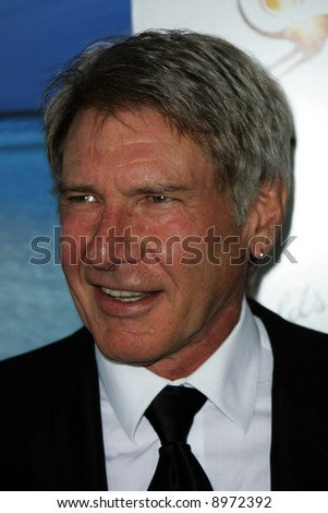 Harrison Ford. The Australia Weeks G'Day USA Gala held at the Kodak Theatre in Hollywood - 19 January 2008. Compulsory Credit: Entertainment Press - stock photo