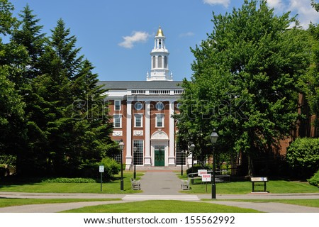 Harvard Business School - stock photo