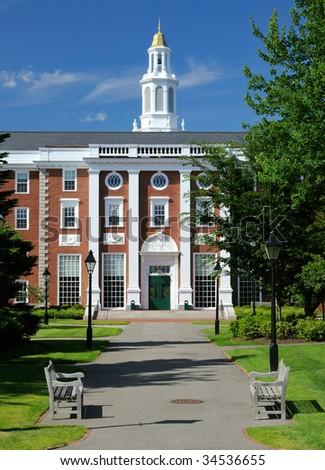 Harvard Business School - stock photo