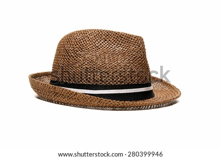 hat isolated close up  - stock photo