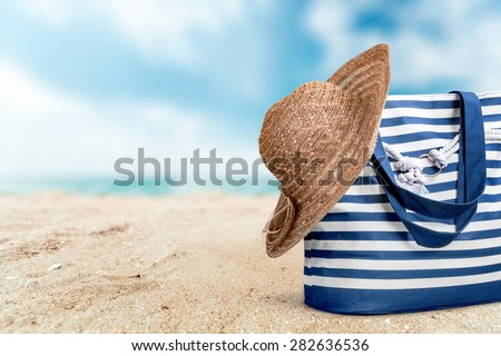 Hat, summer, isolated.