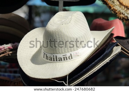 Hat , West hat  - stock photo
