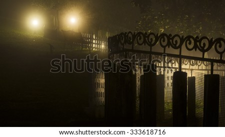 Haunted Burial ground view