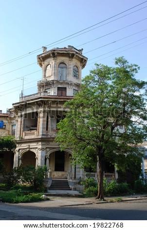 Havana architecture - stock photo
