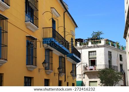 Havana, Cuba architecture - stock photo