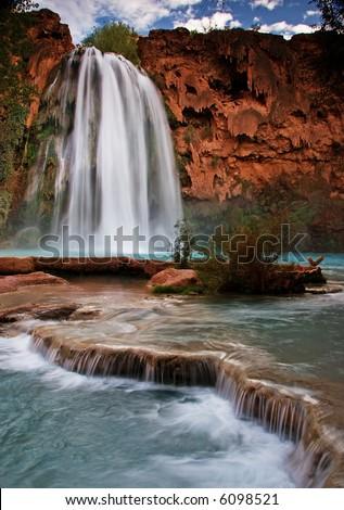 Havasu Falls - stock photo
