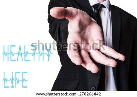 Have a healthy life - stock photo