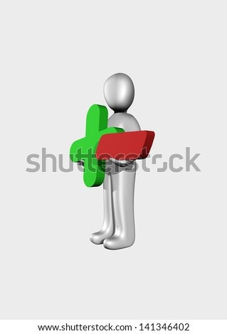 have doubts - stock photo