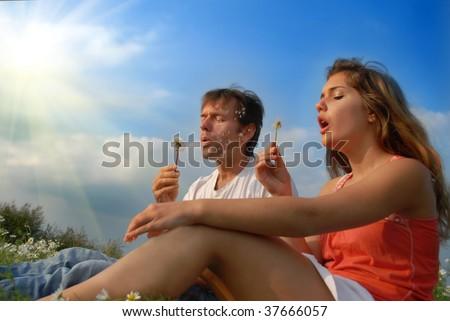 Having fun together - stock photo