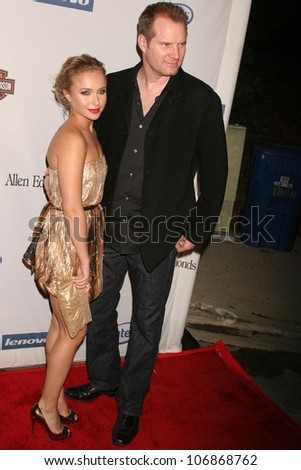 Hayden Panettiere and Jack Coleman  at the Hollywood Entertainment Museum Gala Honoring the Cast of 'Heroes'. Esquire House, Hollywood, CA. 11-01-08
