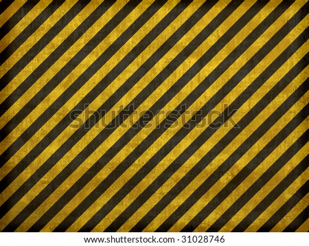 Hazard stripes texture that tiles seamlessly as a pattern in any direction. - stock photo