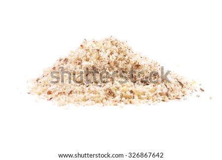 Hazelnuts powdered  - stock photo