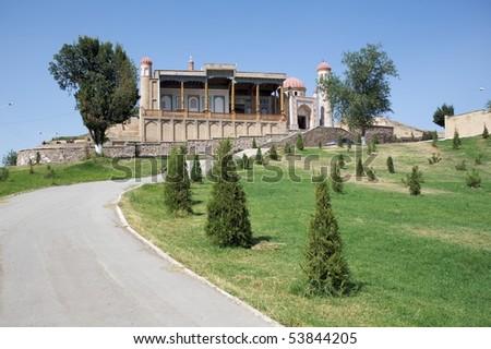 Hazret Hyzr Mosque - stock photo
