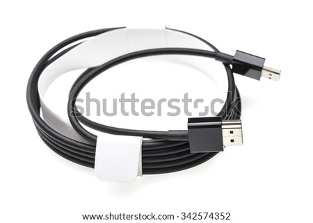 HDMI Cable - stock photo