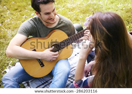 He is a real prince charming - stock photo