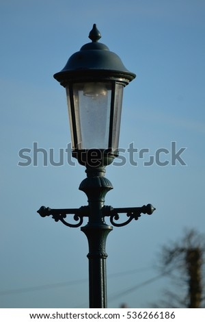 Old Street Lamp Stock Images, Royalty-Free Images & Vectors ...