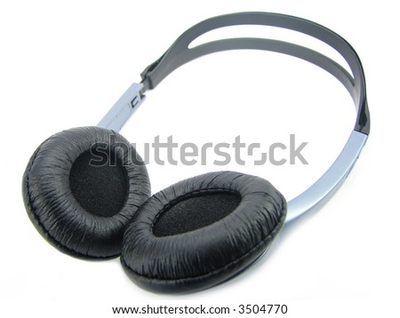 Head sets, isolated against the white background.
