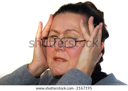 Headache #2 - stock photo