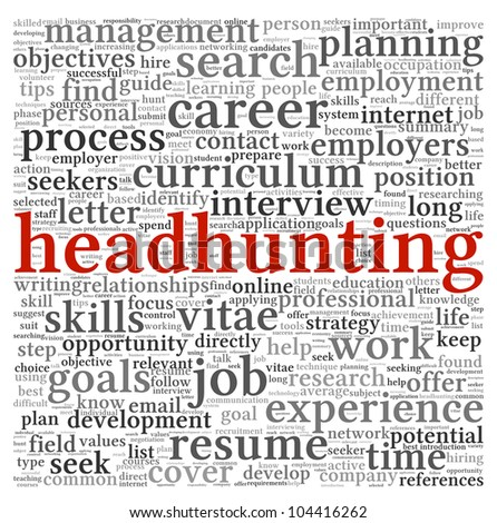 Headhunter Career Stock Images, Royalty-Free Images & Vectors ...