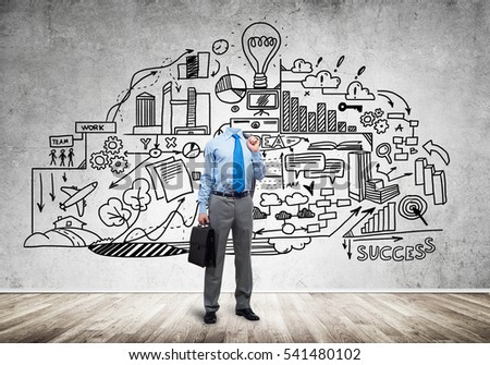 Headless Royalty Free Stock Music  >> Headless Engineer Man Papers Hand Against Stock Photo Royalty Free