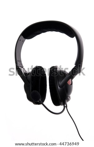 Headphone with microphone
