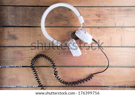 headphones - stock photo