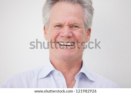 Headshot of a handsome businessman