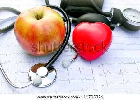Health care and healthy living - stock photo