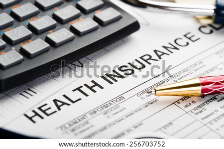 Health care costs.  - stock photo