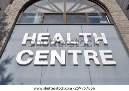 Health Centre - stock photo
