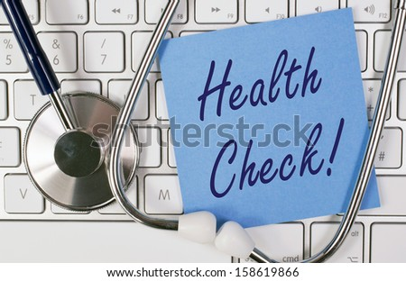 Health Check - stock photo