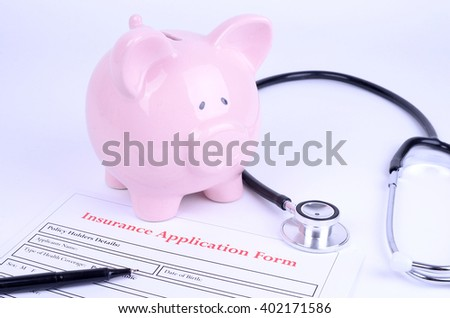Health Insurance - stock photo