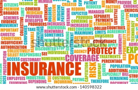 Health Insurance Policy and Choose or Buy One - stock photo