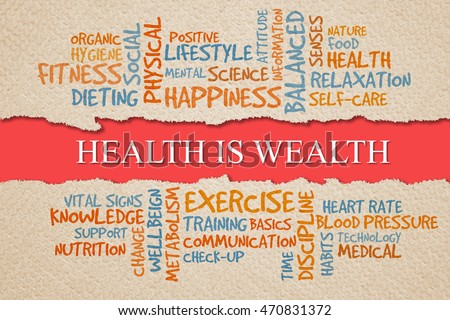Health Is Wealth Stock Images Royalty Free Images