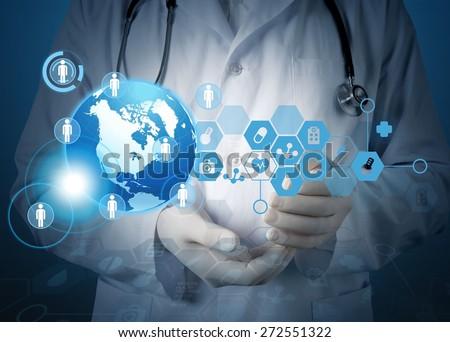 Health, screen, test. - stock photo