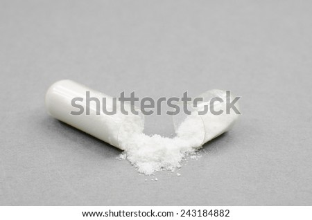 health supplement - stock photo