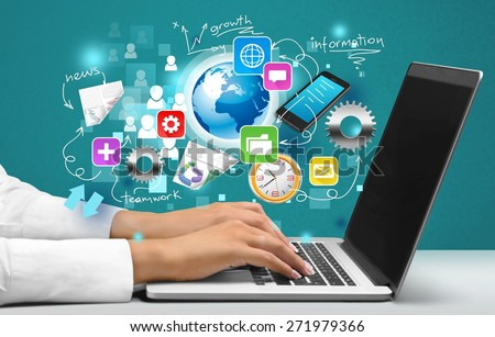 Healthcare And Medicine, Medical Record, Electrical Equipment. - stock photo
